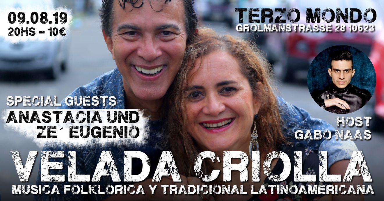Bild der Musiker der Velada Criolla