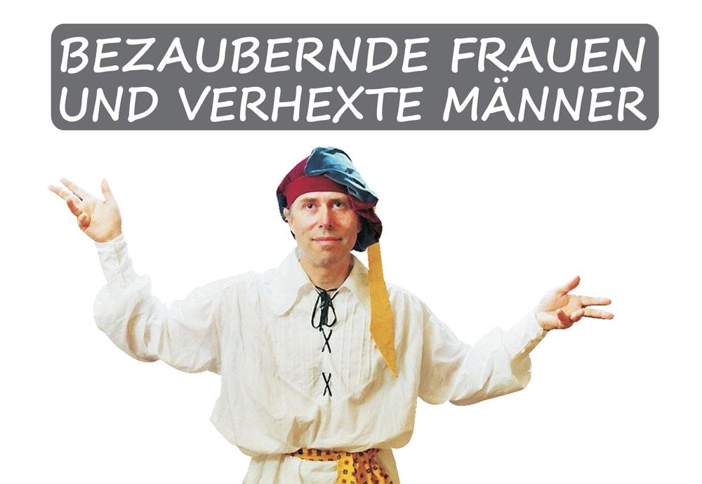 Plakat blinder barde Märchentage 2016