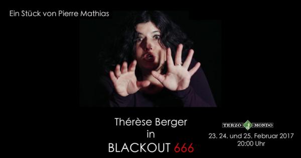 bild von blackout 666 mit Therese Berger im Terzo Mondo