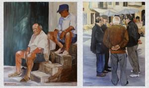 Heidenreich in der Galerie Terzo Mondo