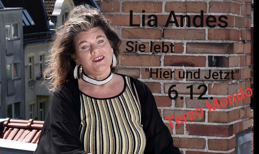 """Lia Andes - Sie lebt """"Hier und Jetzt"""""""