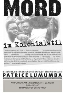 Lumumba Plakat