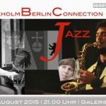 Plakat von Stockholm Berlin connection