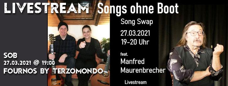Songs ohne Boot – Song Swap feat. Manfred Maurenbrecher