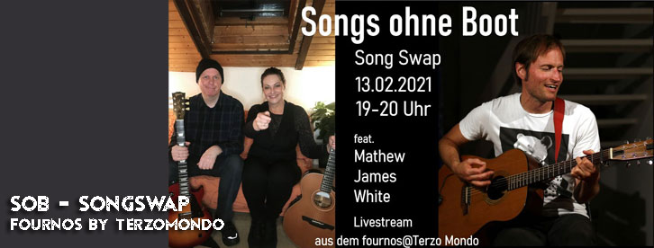 Songs ohne Boot - Song Swap feat. Mathew James White - LiveStream