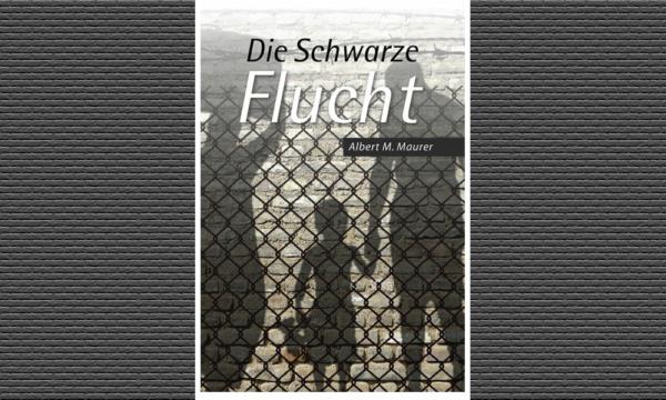 plakat von lesung Die Schwarze Flucht