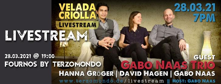 Gabo Naas Trio - Velada Digital
