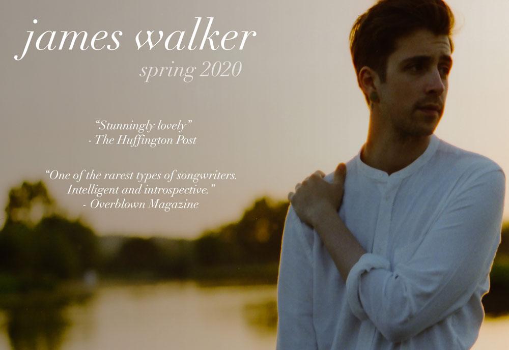 spring tour 2020 James Walker