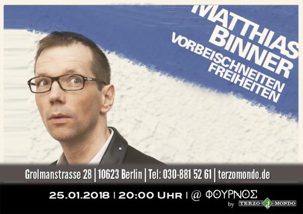 Vorbeischneiten Freiheiten - Matthias Binner