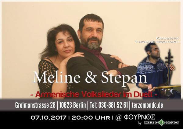 Armenische Volkslieder im Duett