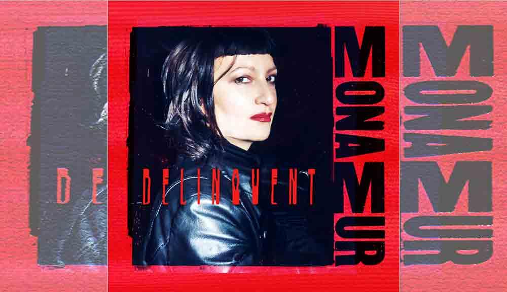 das Cover der neuen Cd Delinquent von Mona Mur