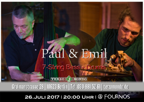 Paul & Emil - a traiN gOing to paRAdies!
