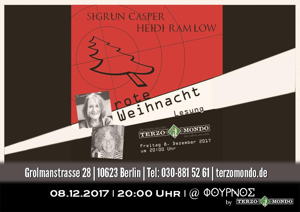 Terzo Mondo – Taverne • Galerie • Bühne | Weihnachts(krimi)lesung ...