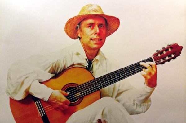 Bild von Marcantée, dem erzählenden und musizierenden Bardenx im Terzo Mondo